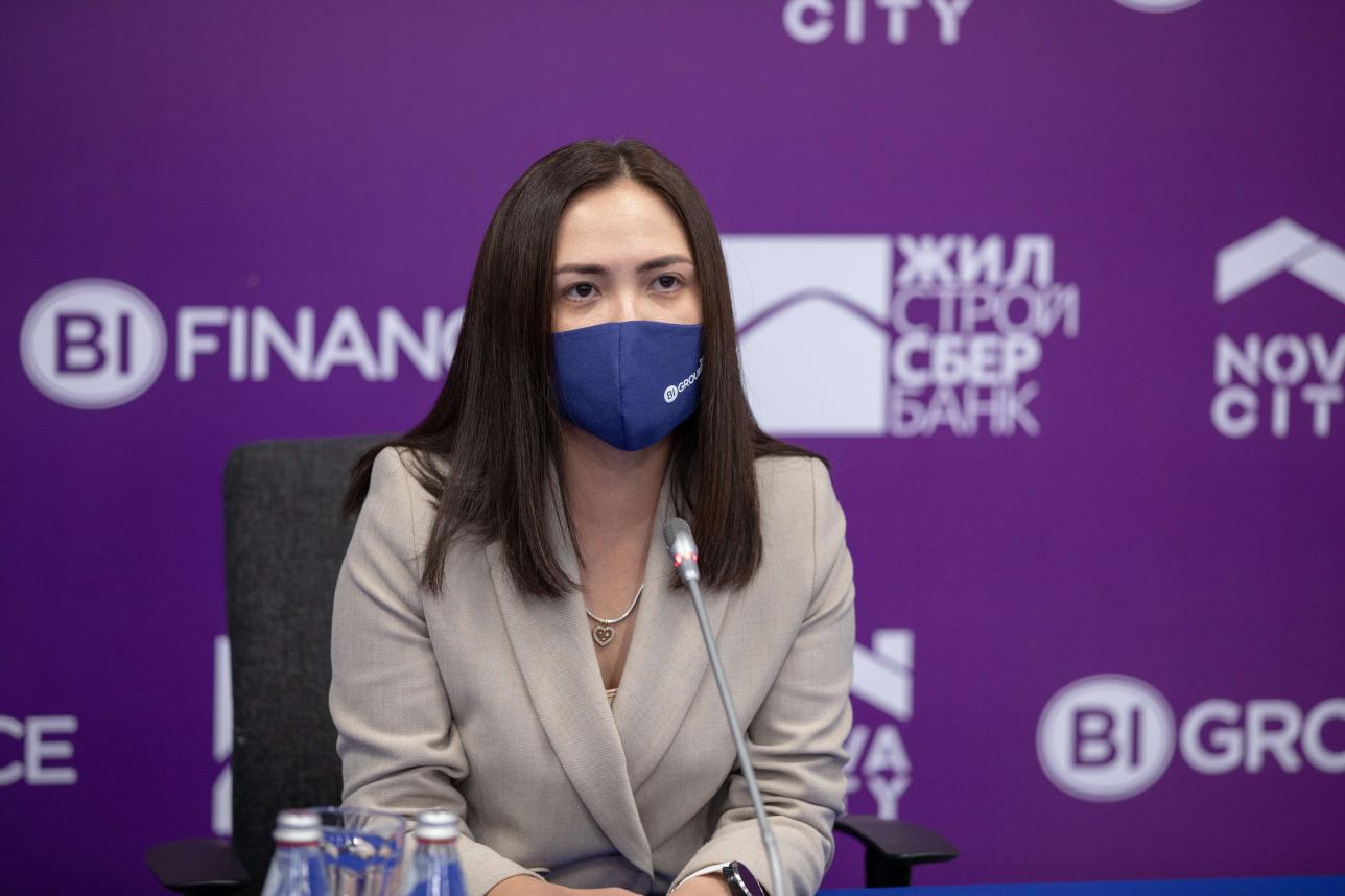 Коммерческий директор компании BI GROUP Асель Жунсова