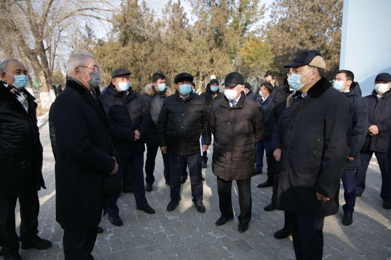 Ералы Тугжанов на встрече с коллективом НИИ проблем биологической безопасности