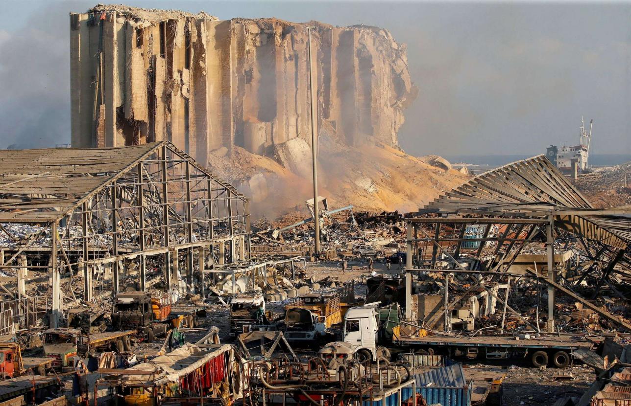Жарылыстан кейінгі Бейрут