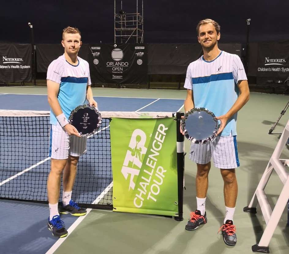 Теннисисты Андрей Голубев и Александр Недовесов