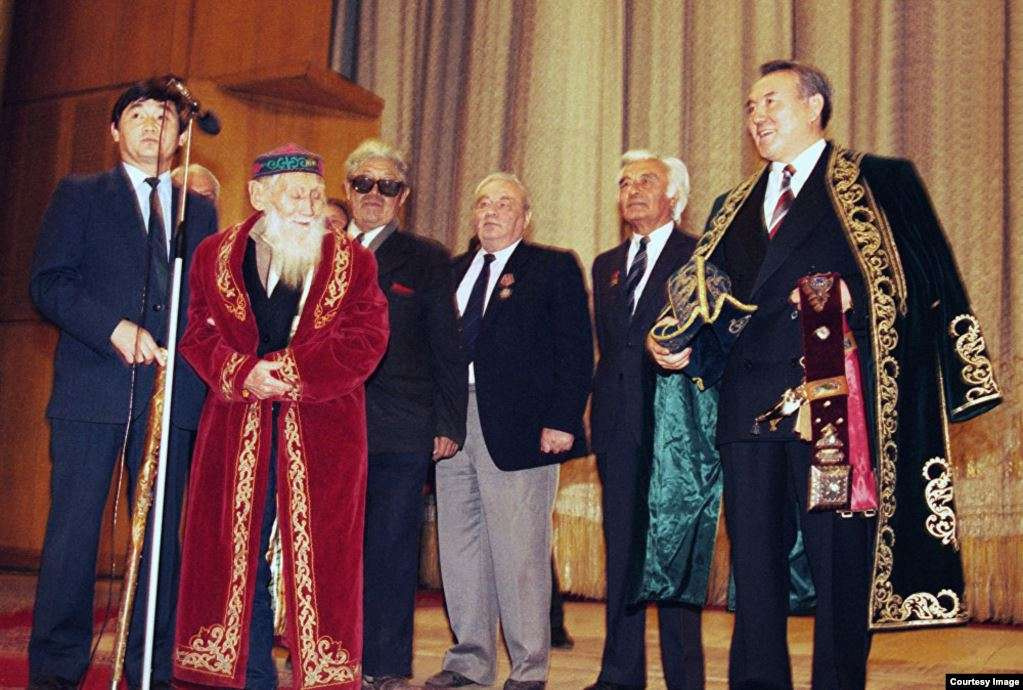 Первая инаугурация Нурсултана Назарбаева