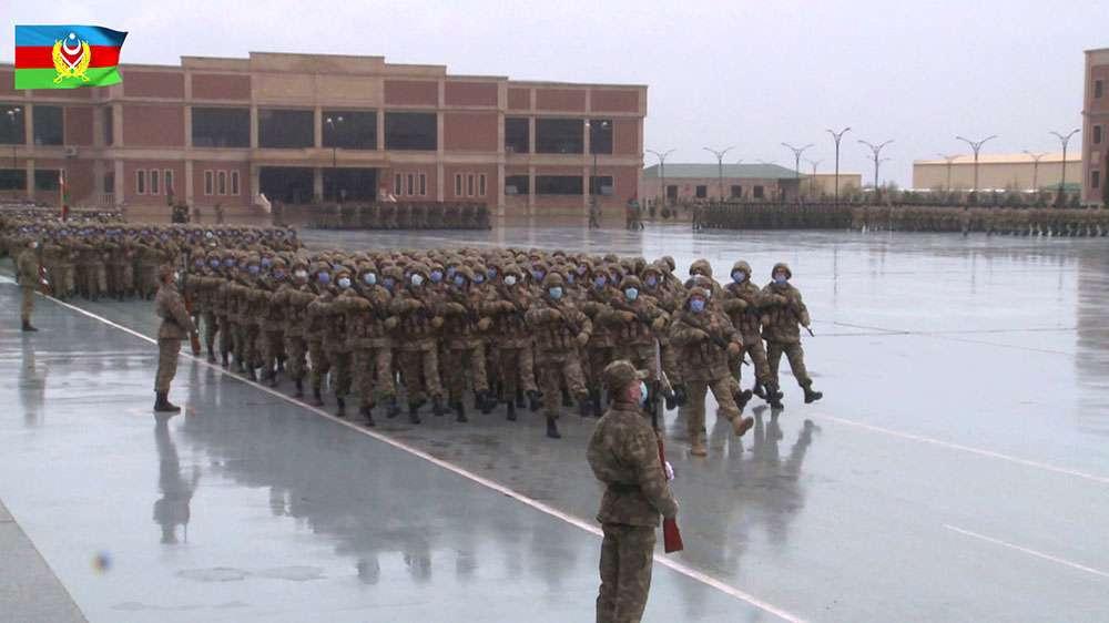 Репетиция военного парада в Баку