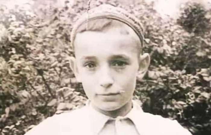 Валентин Гафт в детстве