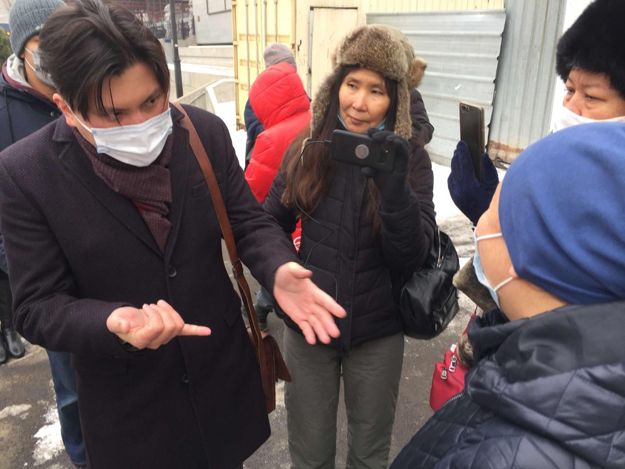 Нурлан Койшанбаев и Салтанат Ташимова