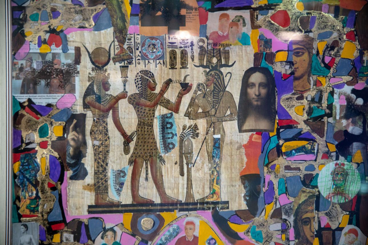 "Картина Юристанбека Шыгаева ""Колдовство из серии ""Covid-19"""
