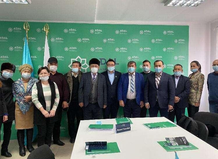 Встреча в городе Шымкент