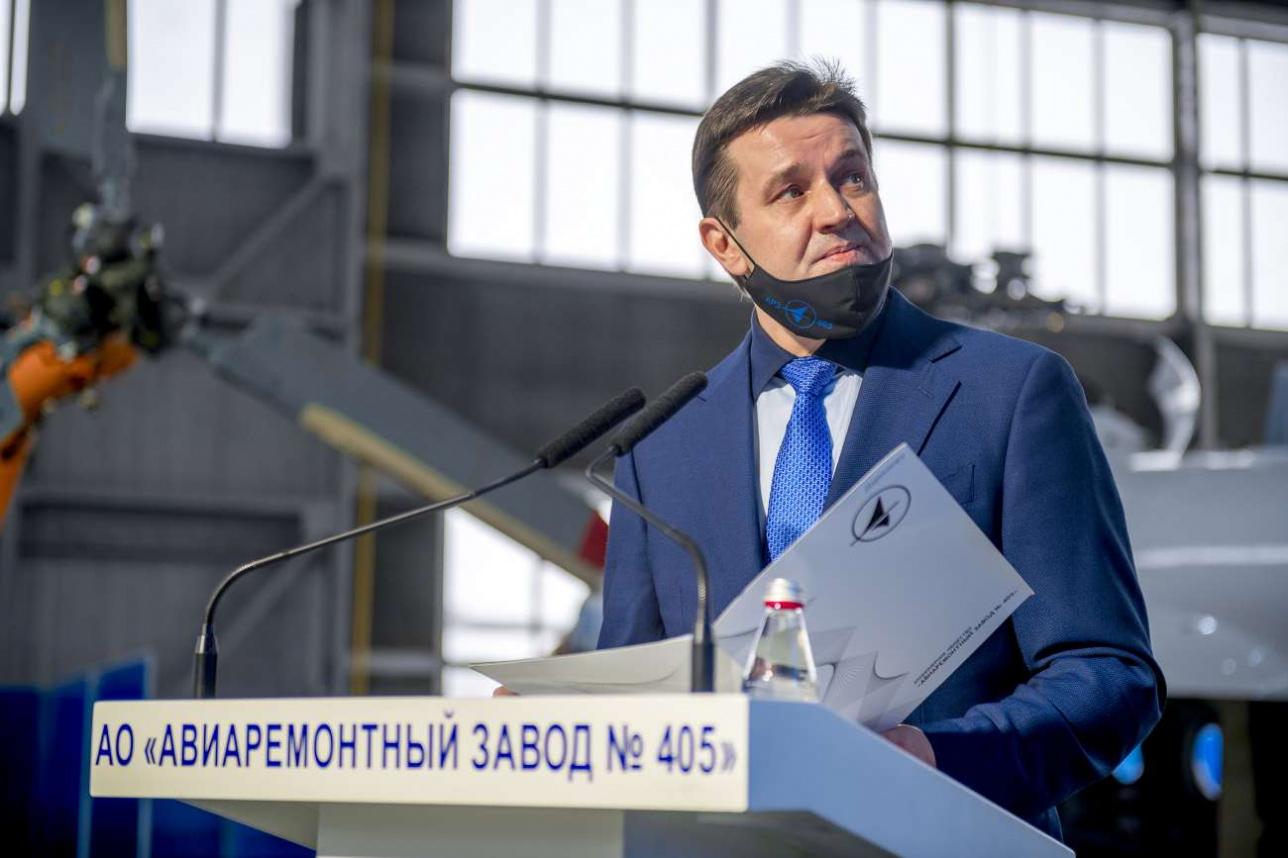 """Константин Ушаков, генеральный директор АО """"Авиаремонтный завод № 405"""""""