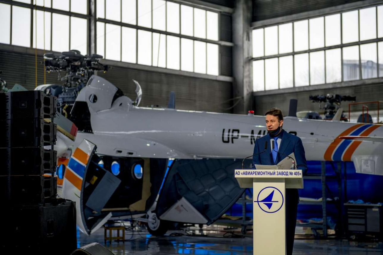 Константин Ушаков рассказывает о том, как будут применять вертолеты казахстанской сборки