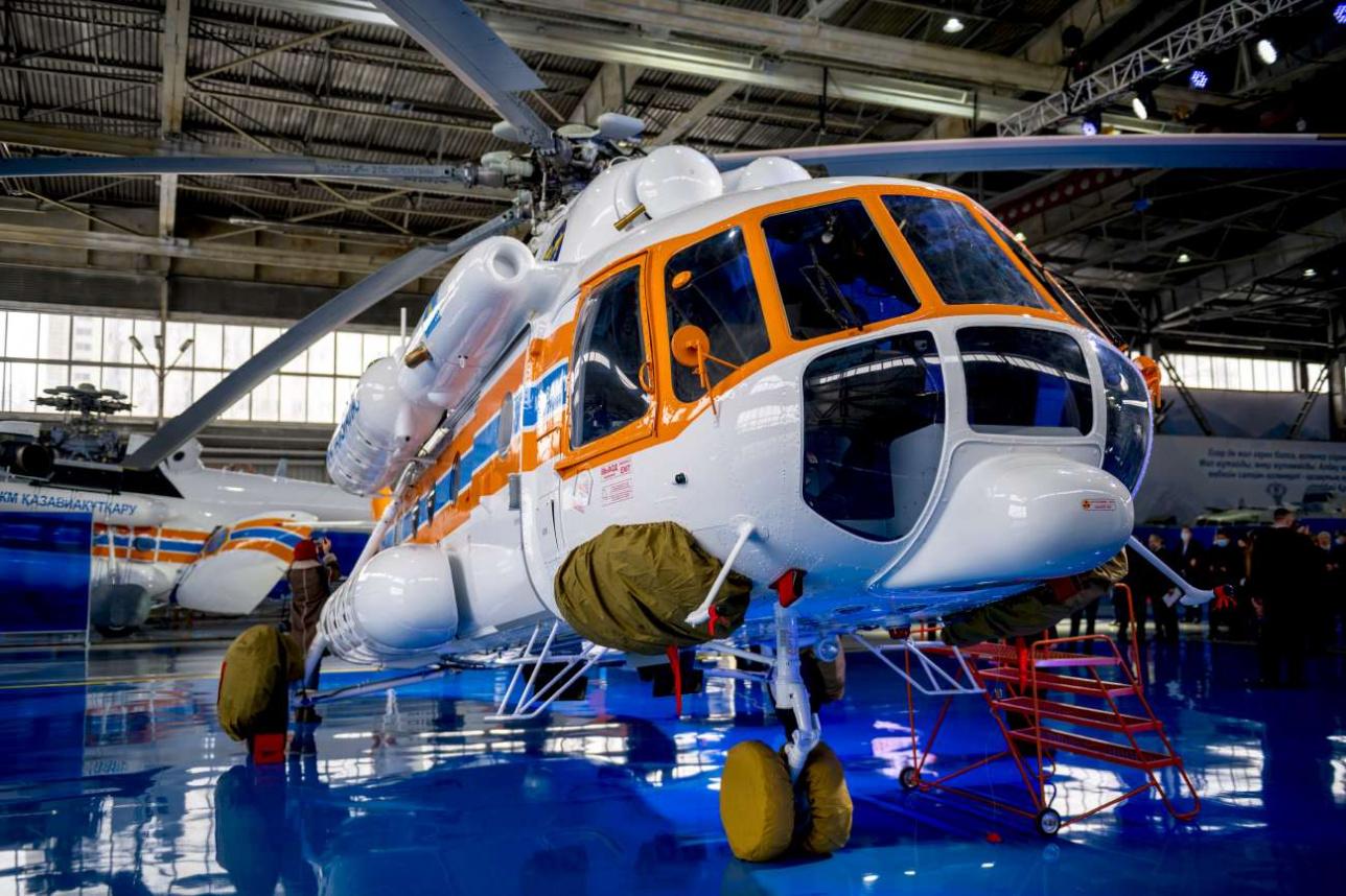Новые вертолёты оснащены дополнительным оборудованием