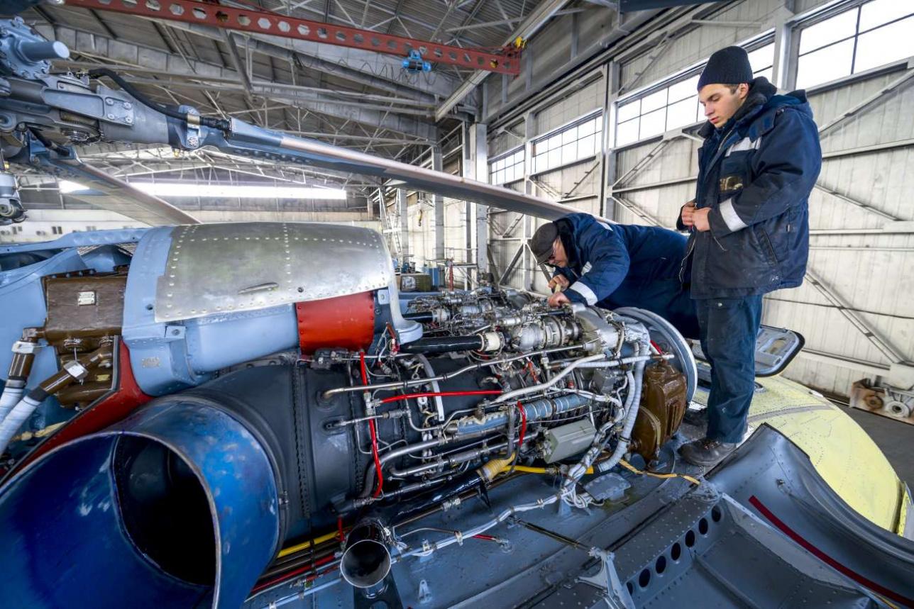 Для реализации проекта по сборке вертолётов в Казахстане было создано 70 новых рабочих мест
