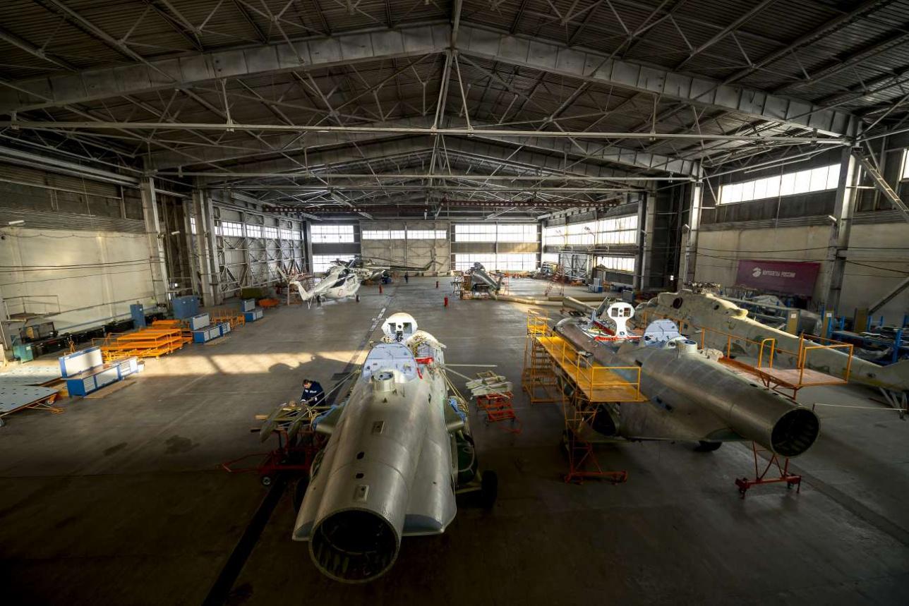 В год завод в Алматы может собирать до 10 вертолётов Ми-8 АМТ