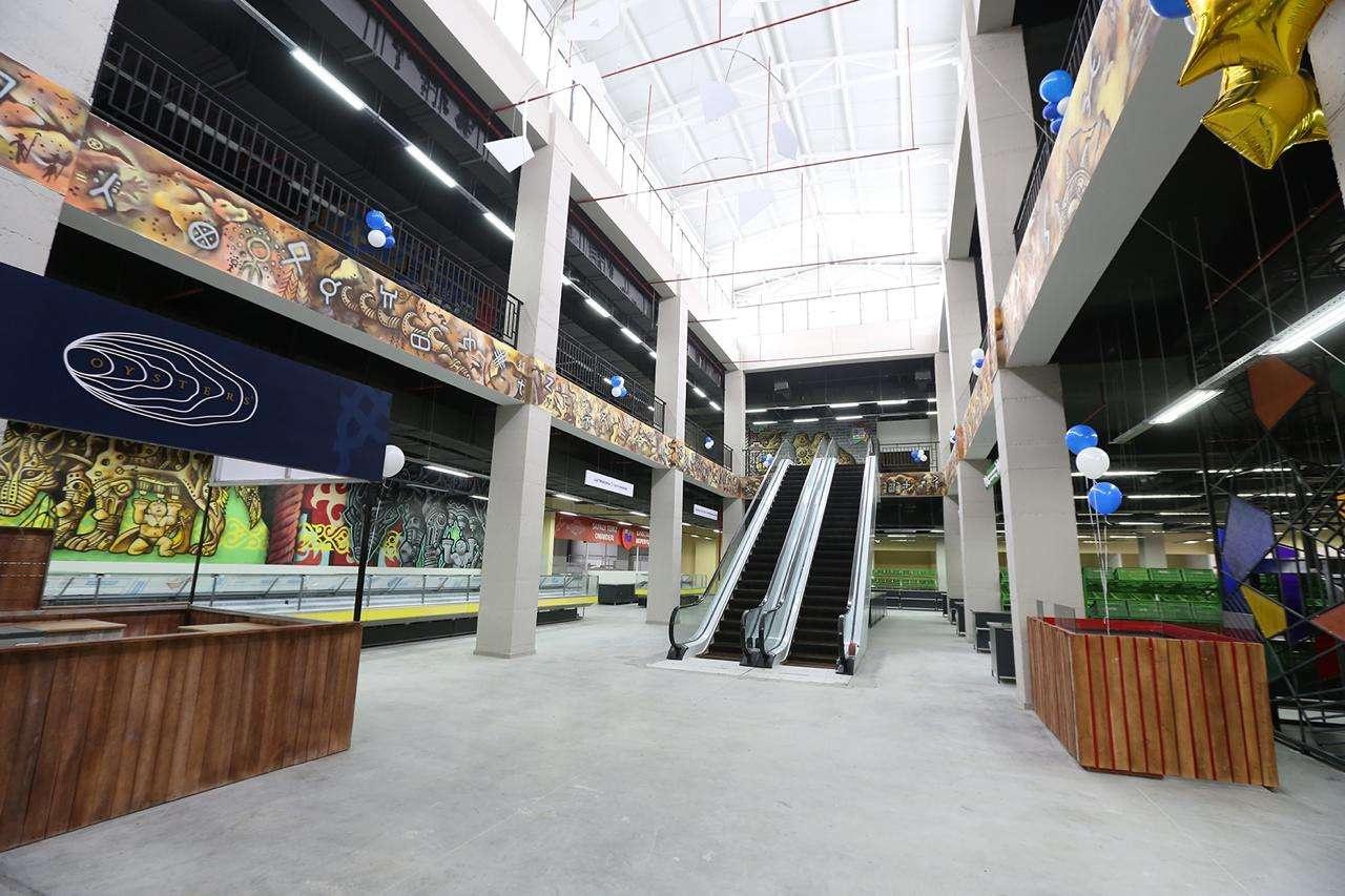 Площадь центра составляет более 7000 квадратных метров