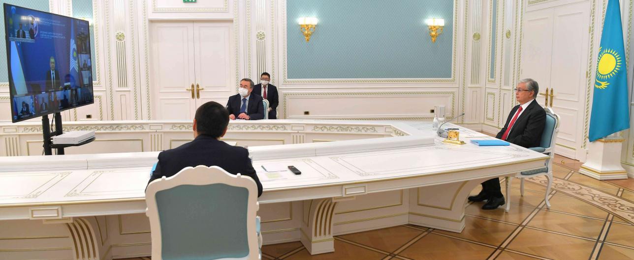 Токаев принял участие в заседании Совета глав СНГ