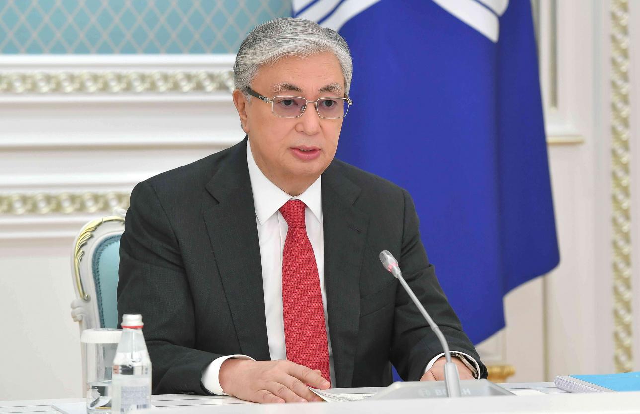 Президент Казахстан призвал