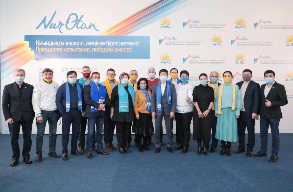 Встреча с бизнес-сообществом Алматы