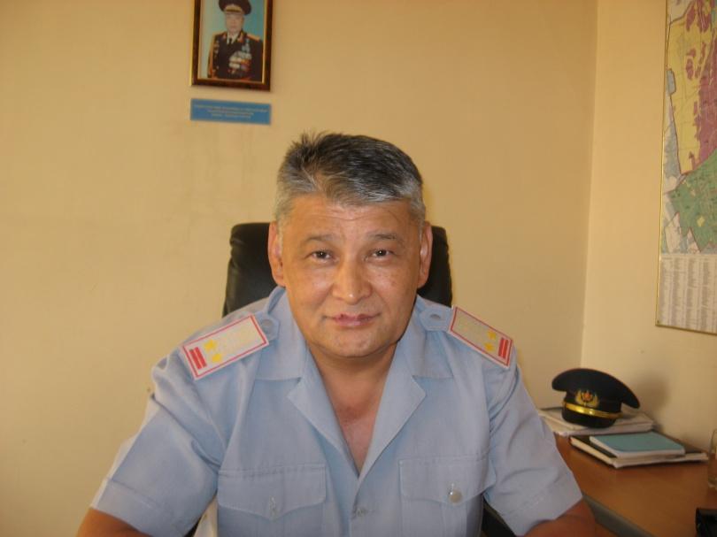 Подполковник Омар Айтказин