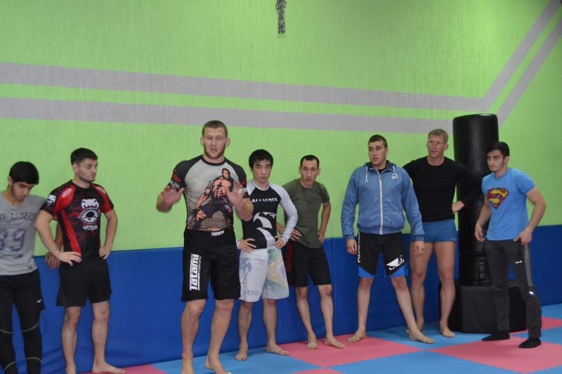 В мастер-классе приняли участие шесть спортивных клубов.