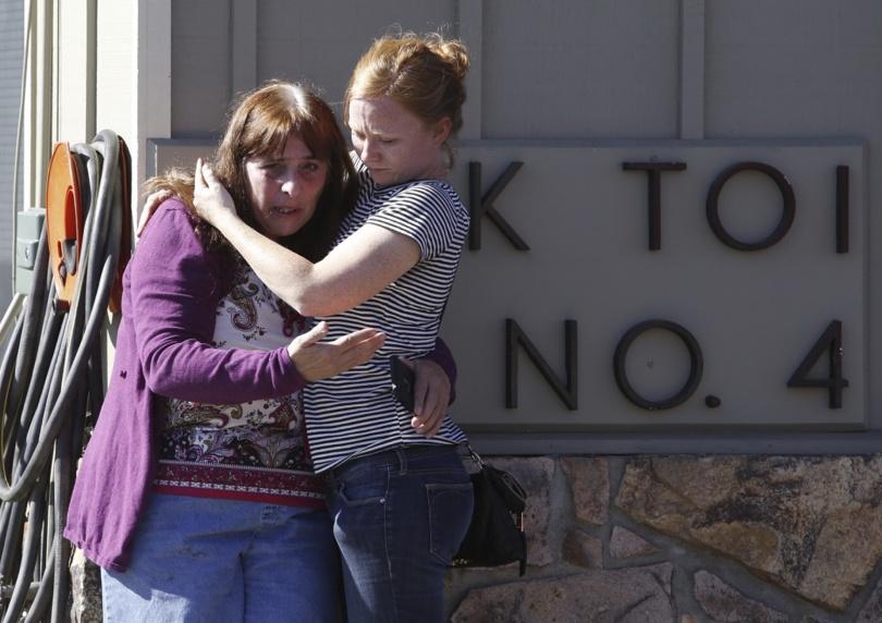 В результате стрельбы погибли девять человек.