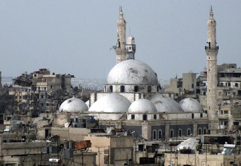 Архитектурный ансамбль церквей и мечети Халид Ибн аль-Валида