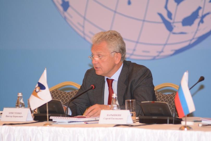 Председатель Евразийской экономической комиссии Виктор Христенко