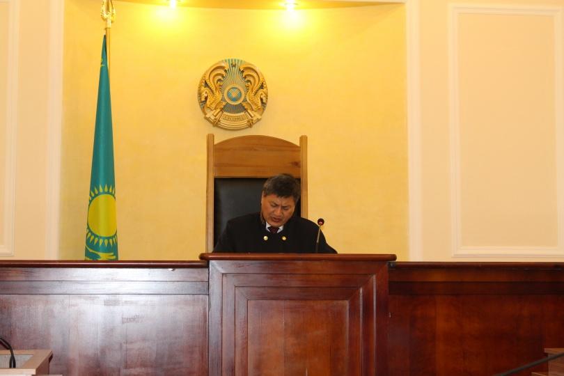 судья уголовного процесса Ербол Рахимбеков