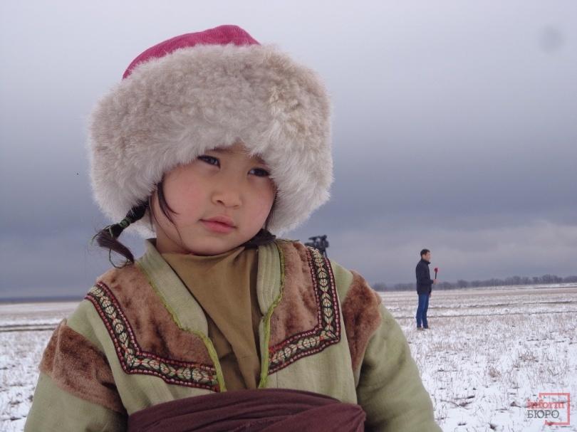 Маленькая актриса сериала - 5-летняя Асия