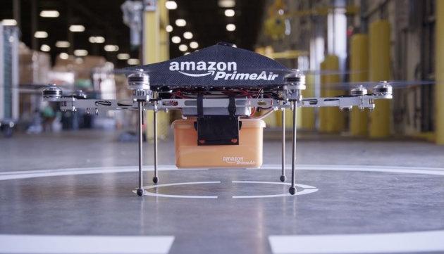 Дрон-почтальон способен доставить посылку до 2.6 кг на расстояние до 16 км