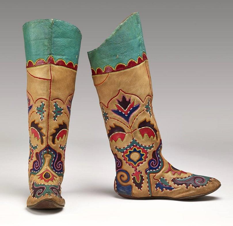 Ичиги, которые носили кочевники, представлены на выставке в Британском музее
