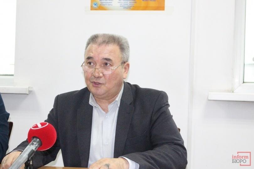 "Директор ТОО ""Тулпар ЦДС"" Асылбек Мухамбеталиев"
