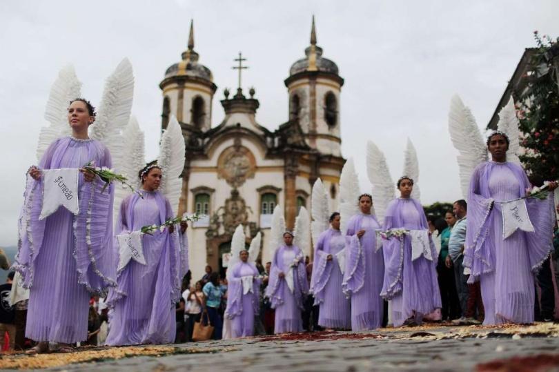 Пасха в Ору-Прету, в Бразилии. (Фото: Mario Tama/Getty Images)