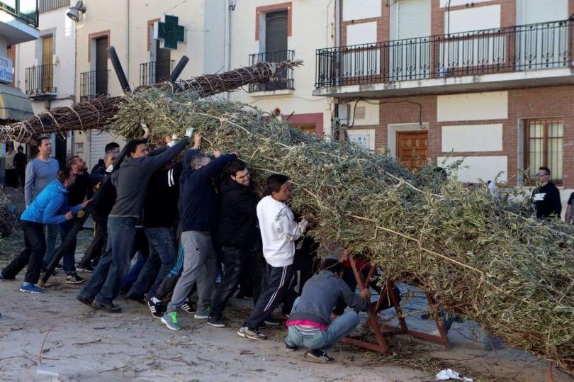 Пасха в Tielmes, в Испании. (Фото: Paul White/AP Photo)