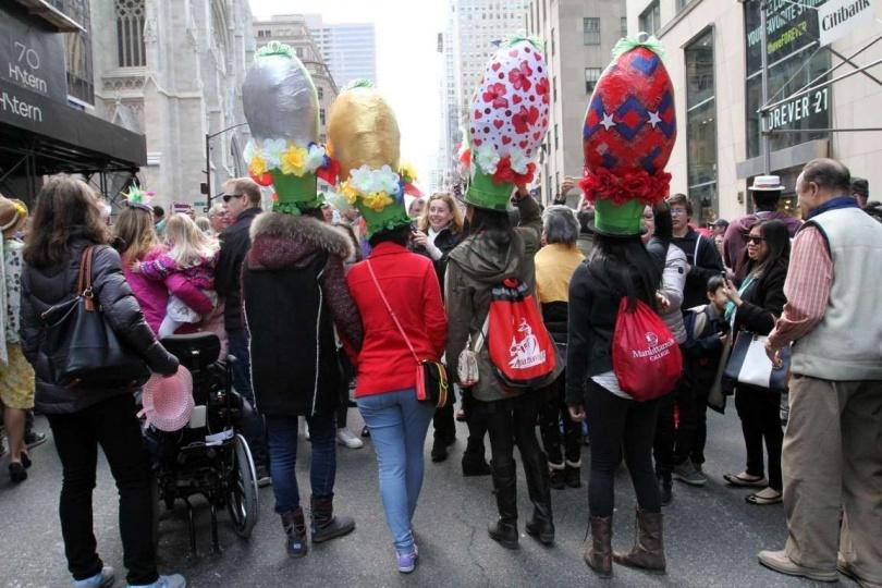 Пасха в Нью-Йорке, в США. (Фото: Associated Press)