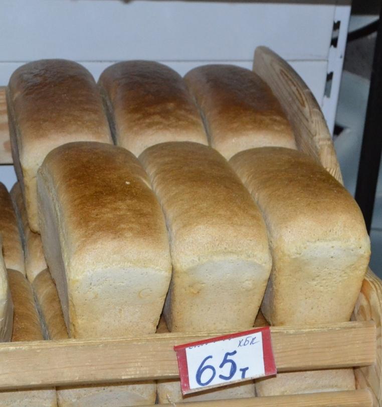 Шымкент рапортует о незначительном повышении цены на хлеб - с 60 до 65 тенге за булку