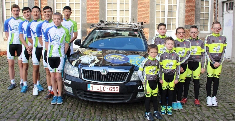 Пока UCI Baikonur состоит из десяти казахстанских и шести бельгийских гонщиков
