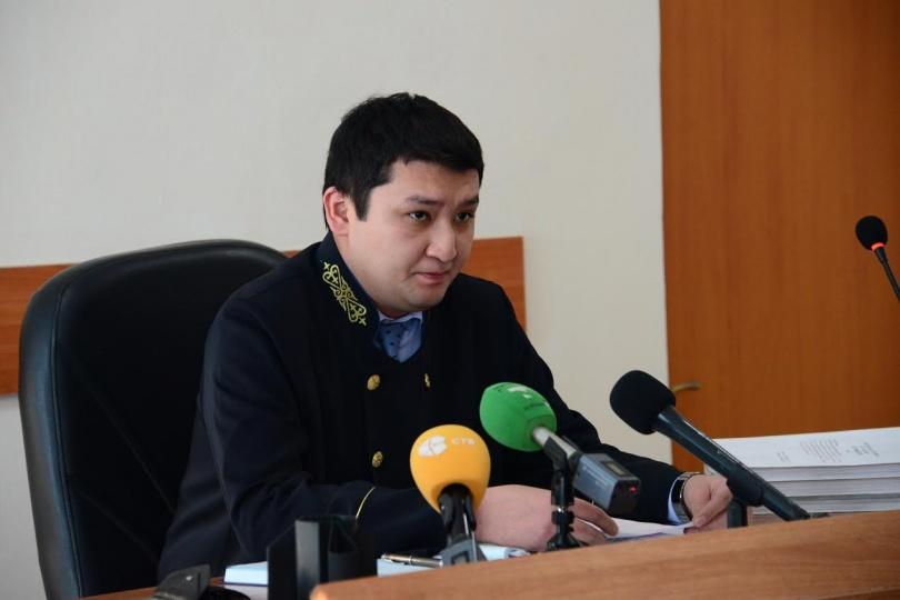 Председатель Алмалинского районного суда Куаныш Арипов