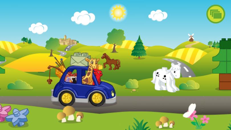 Скриншот игры Lego Duplo Animals