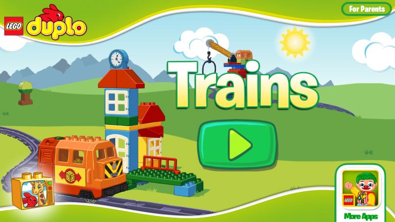 Скриншот игры Lego Duplo Trains