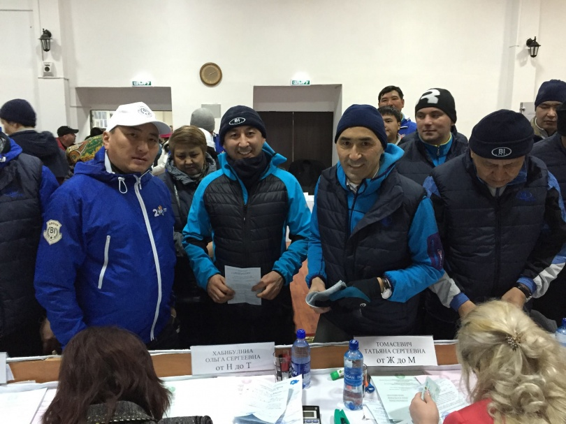 Айдын Рахимбаев на выборах