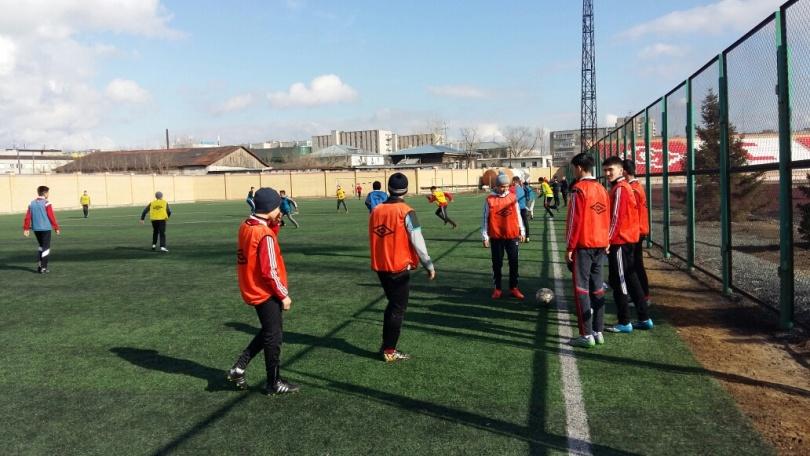 Тренеры занимаются с воспитанниками на голом энтузиазме