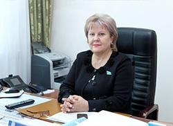 Депутат Мажилиса парламента РК Ирина Аронова