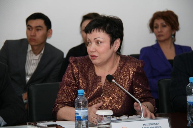 Президент ассоциации кулинаров РК Полина Шиманская