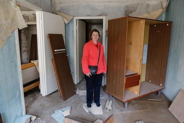 Мародёры разграбили все квартиры