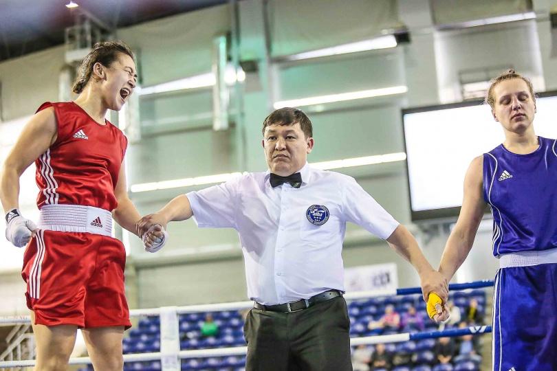 Победа Назым Ищановой над Риммой Волосенко на минувшем первенстве страны