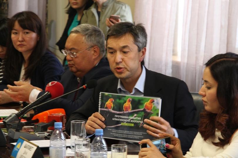 Раимбек Баталов не собирается приватизировать зоопарк