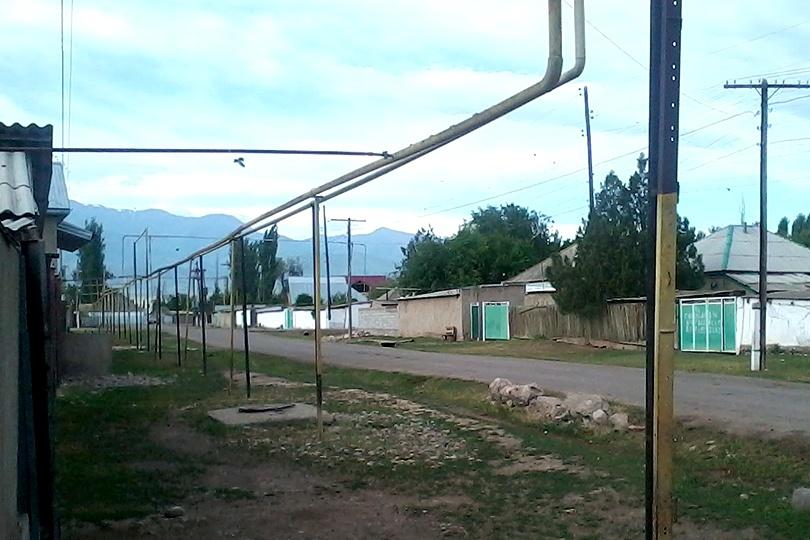 Природный газ в Актогане появился совсем недавно
