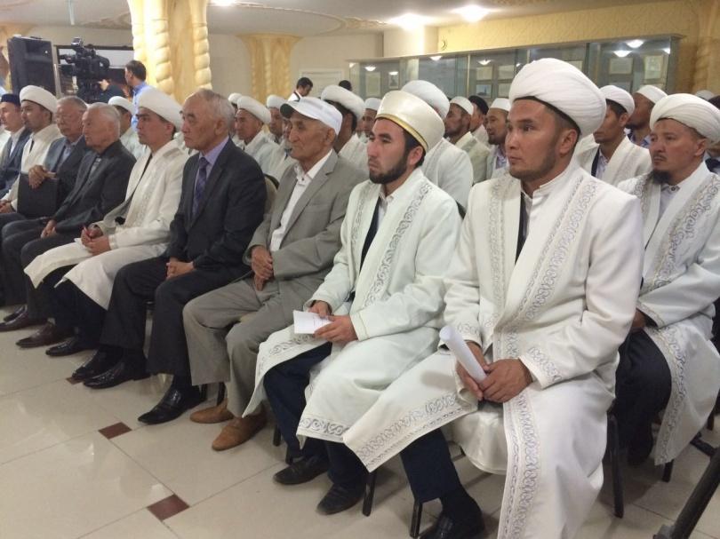 Встреча в актюбинской мечети