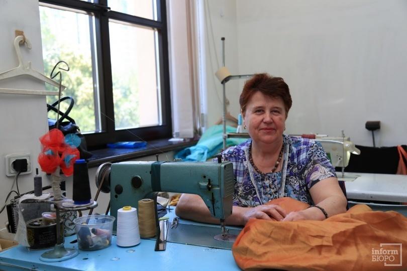Швея ГАТОБ имю Абая Наталья Клещёва