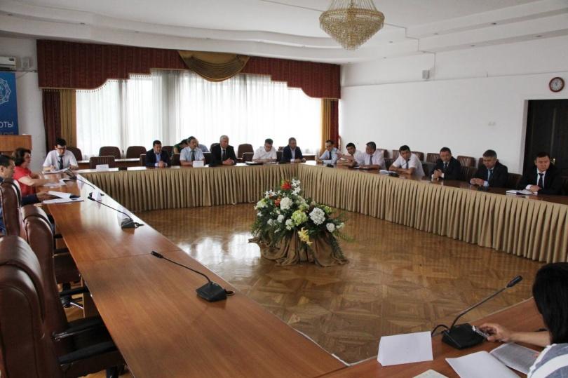В Алматинском городском суде состоялось совещание