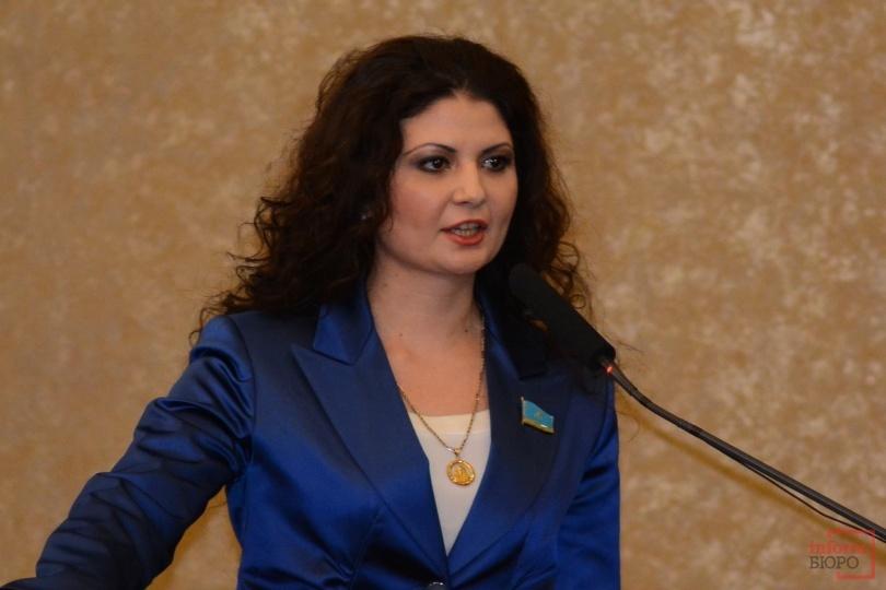Депутат Мажилиса Парламента РК от Ассамблеи народа Казахстана Наринэ Микаелян