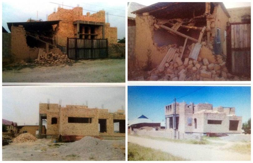 На участке уже начали строить новый дом